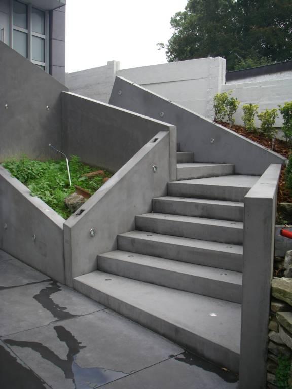 Escalier en béton préfab