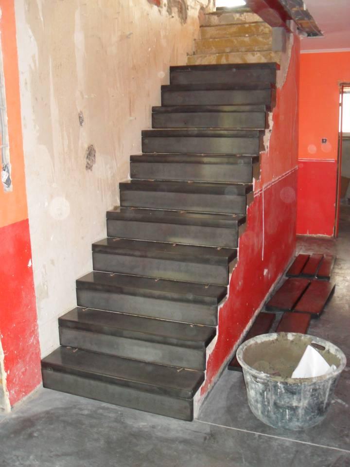 Escalier béton préfabriqué